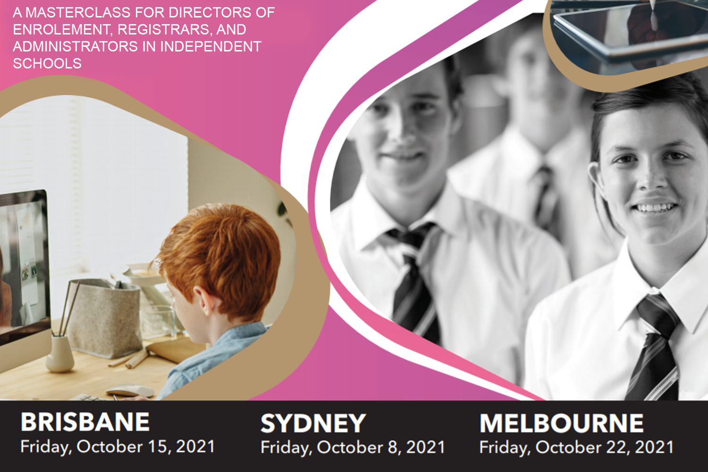 2021 Master Class for Registrars and Directors of Enrolment – Sydney